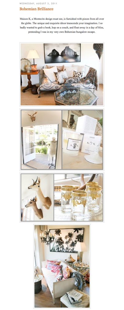 golden white decor and maison k