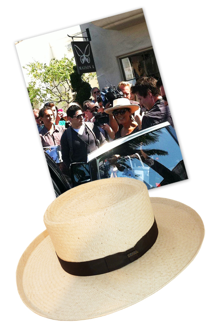 woman's panama hat