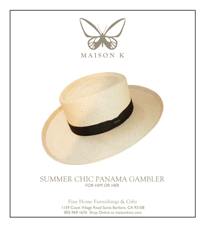 classic panama hat at maison k