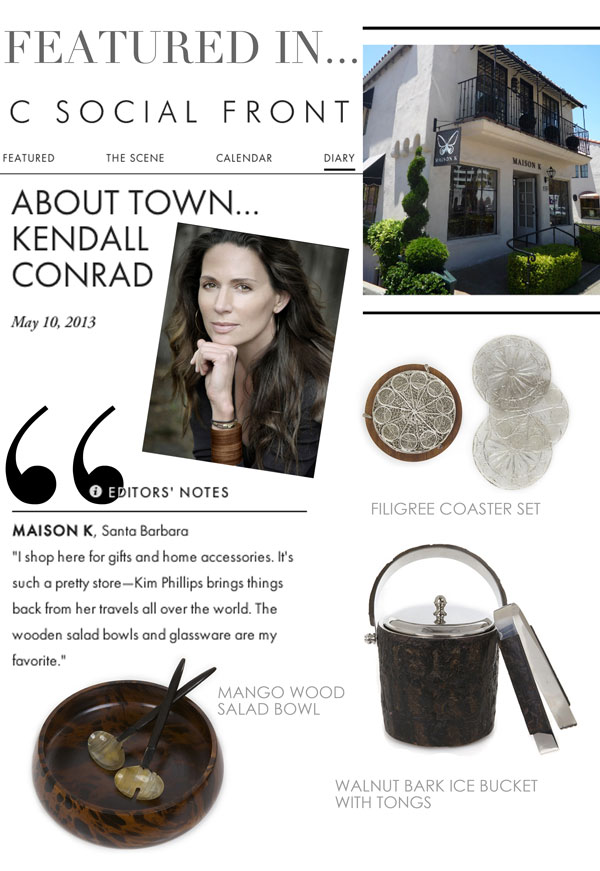 MAISON K featured in C Magazine Blog
