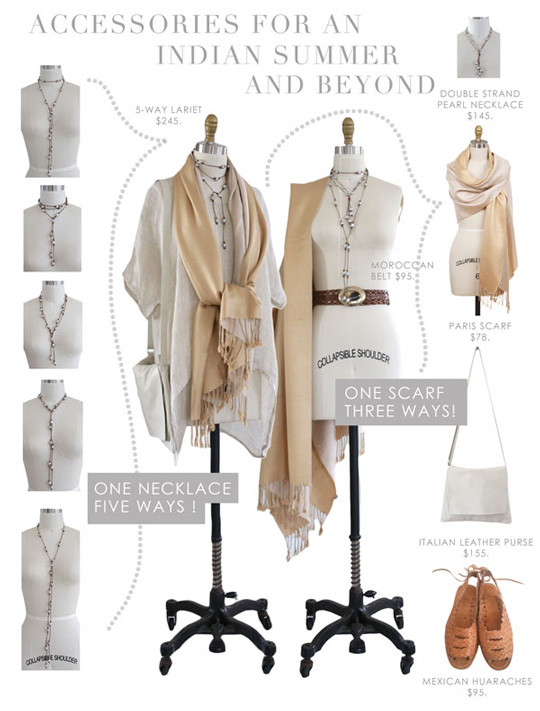 learn how to wear our accessories maison k