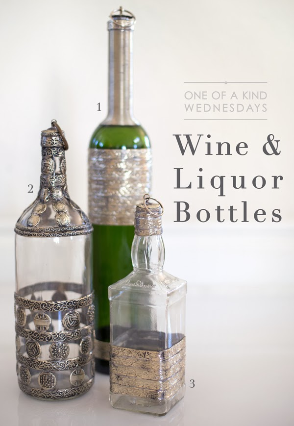wine and liquor bottles at maison k