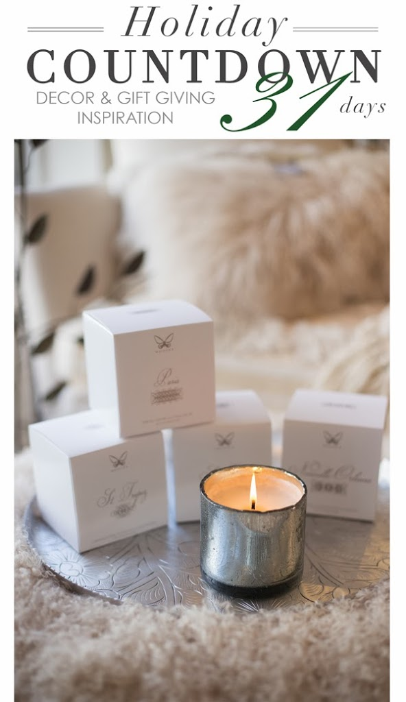 signature scented candles from maison k