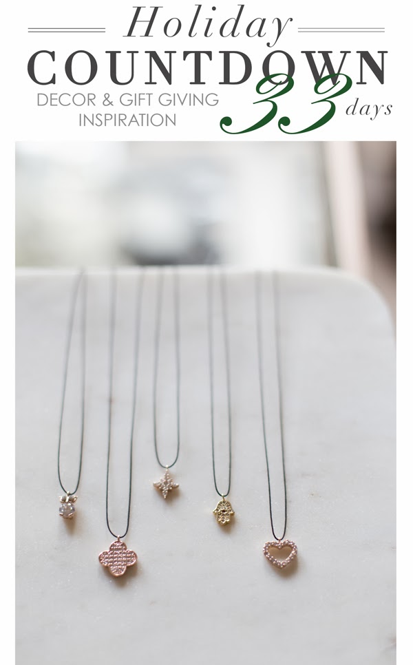 crystal charm necklaces