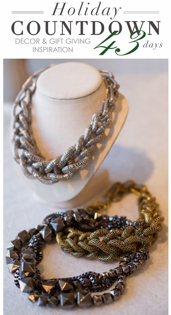 Bold Braided Necklaces at MAISON K