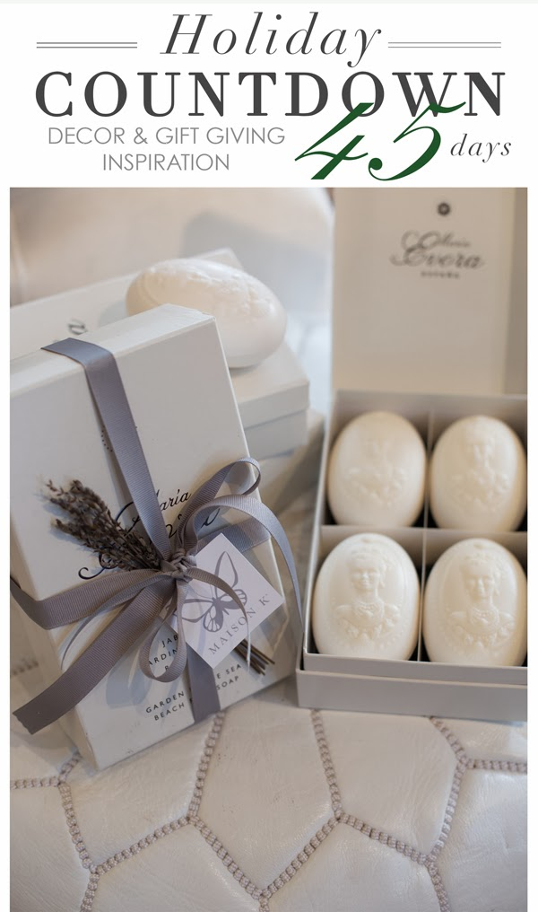 specialty soaps from spain at maison k montecito