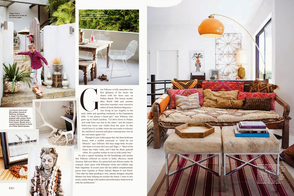 c home magazine features maison k in montecito ca