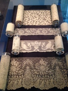lace pattern silk scarves at maison k, santa barbara ca