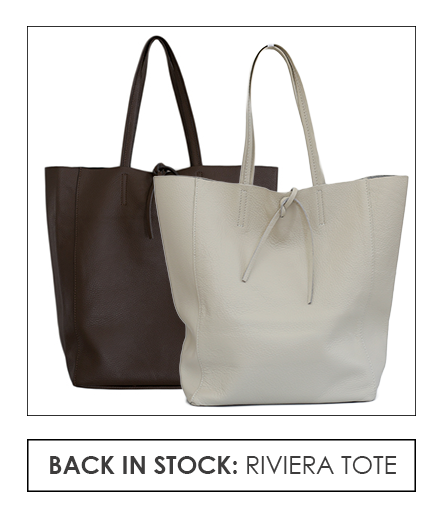 Riviera Tote in many colors, call Maison K Santa Barbara, Montecito, CA