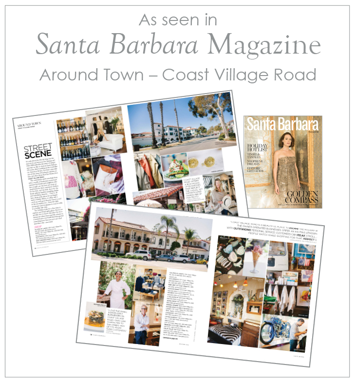 santa barbara magazine coast village road