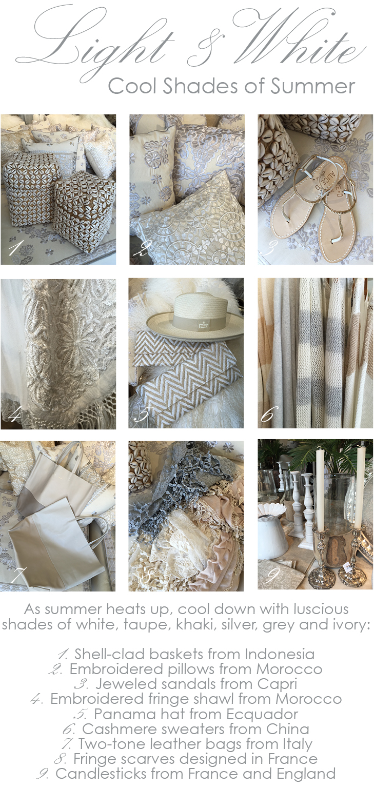 Light and white summer at Maison K