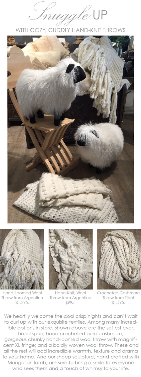snuggle up with warm throws from maison k