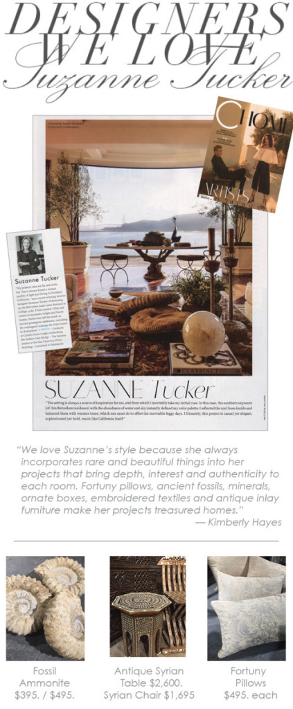 suzanne tucker designers we love at maison k